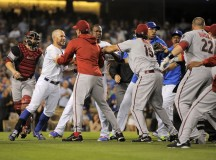 Dodgers and Diamondbacks Suspensions Handed Down