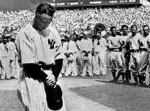 75 Years Later… Lou Gehrig's Farewell Speech Reenacted