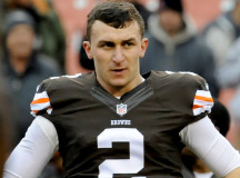 Johnny Manziel Demoted After Allegedly Partying During Bye Week